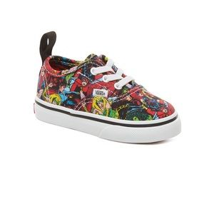 VANS X MARVEL Toddler Elastic Lace Sneakers